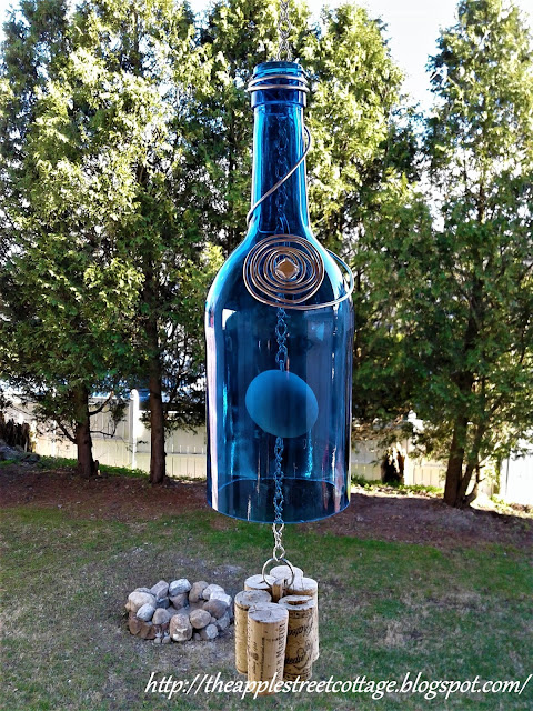 Wine DIY Bottle Wind Chime