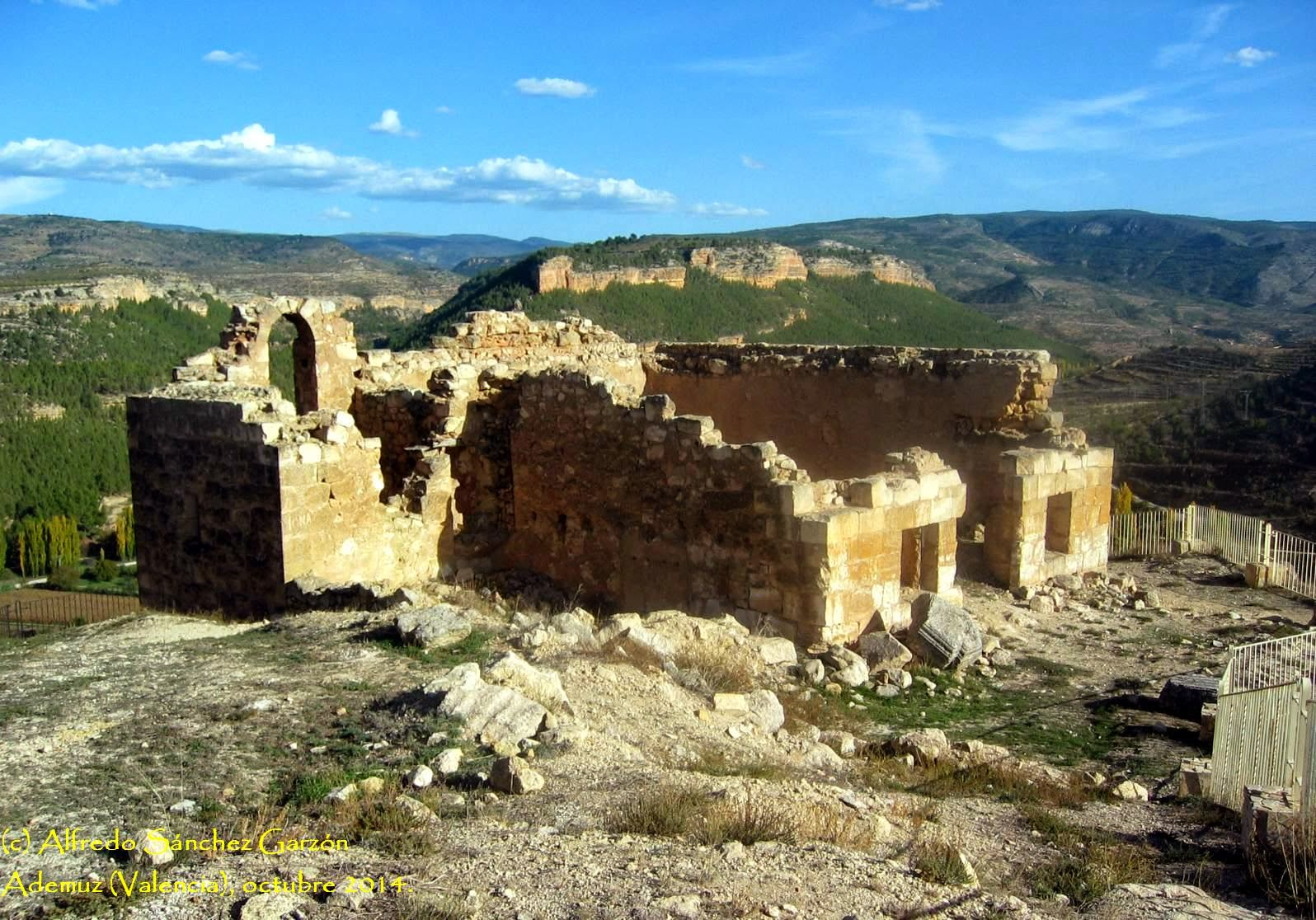 ermita-santa-barbara-ademuz-ruinas