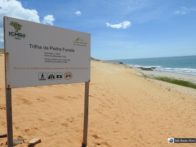 Diário de Bordo - Pedra Furada - Jericoacoara - Ceará