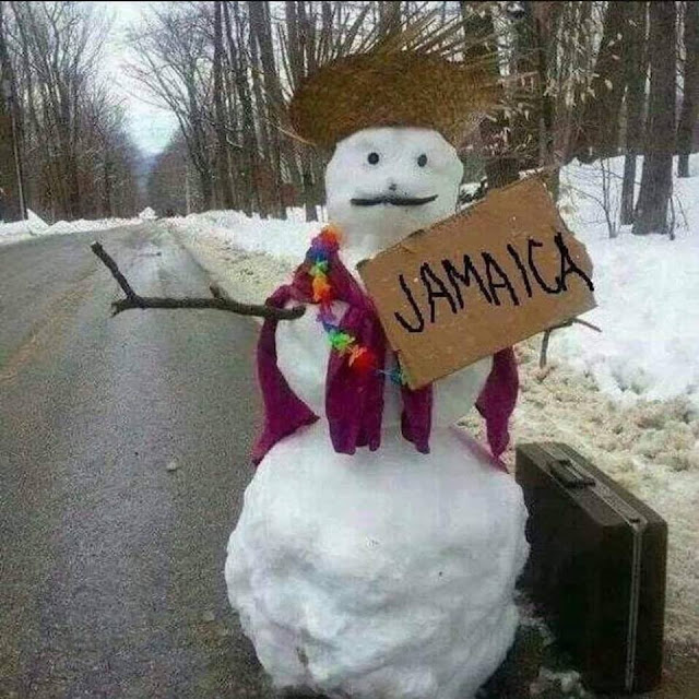 funny snowman winter images