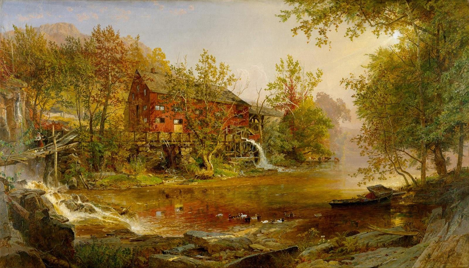 19th Century American Paintings Hudson Valley School Ctd