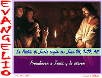 Resultado de imagen para En aquel tiempo, salió Jesús con sus discípulos al otro lado del torrente