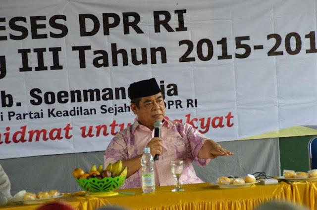 Soenmandjaja : Kabupaten Bogor Ideal Menjadi Provinsi