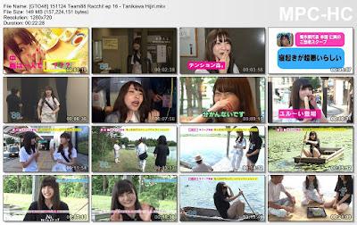 151124 LoGiRL Team 88 Ratch Ep 16 - Tanikawa Hijiri Subtitle Indonesia