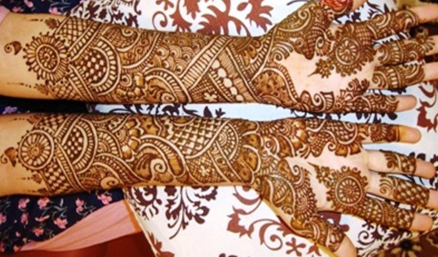Easy Bridal Mehndi Patterns : Latest unique top easy sim pal awesome heena bridal mehandi