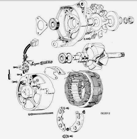 repair-manuals: Datsun Mitsubishi Alternators 1963-74