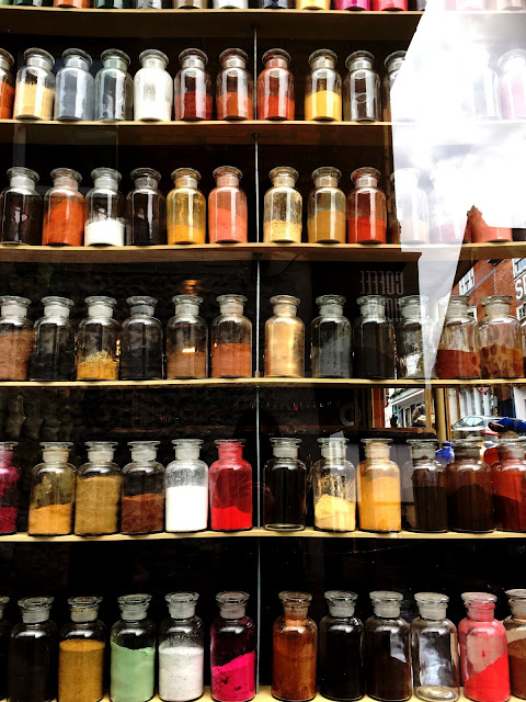 March and Son Eco Pigment Paint Shop in Lewes