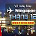 Vé máy bay đi Singapore tháng 12