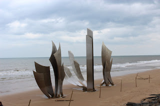 Clothes & Dreams: Why we loved visiting Normandy: War memorial at the beach