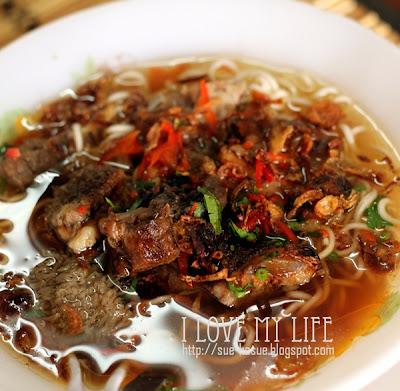 HaSue: I Love My Life: Mee Sup Daging..Mudah Disediakan..Enak Dimakan