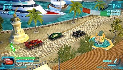 Cars 2 PSP PPSSPP