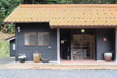 鳥取の窯元・工芸 クラフト館 岩井窯 喫茶HANA