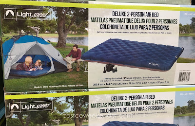 Lightspeed Deluxe 2-Person Airbed - great for camping and sleeping outdoors