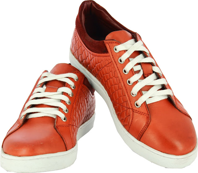 Alberto Torresi Sanvito Red Casual Shoes - Price Rs 3795-