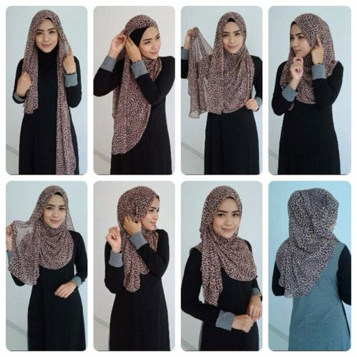 Gaya Pakai Tudung dan Shawl Wanita Hijab