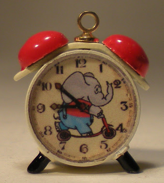 miniature alarm clock
