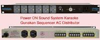 Sound-System-Karaoke-Remote-Sequencer-AC-Distributor