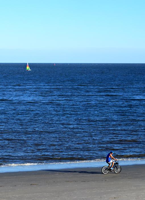 Biking on St. Simons Island | Photo: Travis S. Taylor