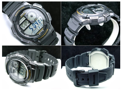 "Descriptive Text tentang Jam Tangan ""CASIO AE-1000W-1AV"""