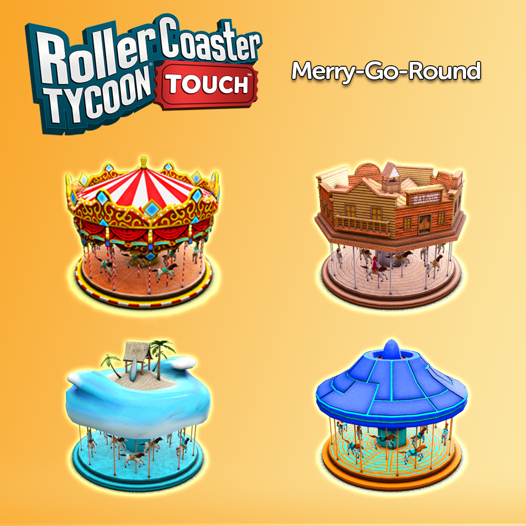 Atari Edge: RollerCoaster Tycoon Touch Now Features Scenarios