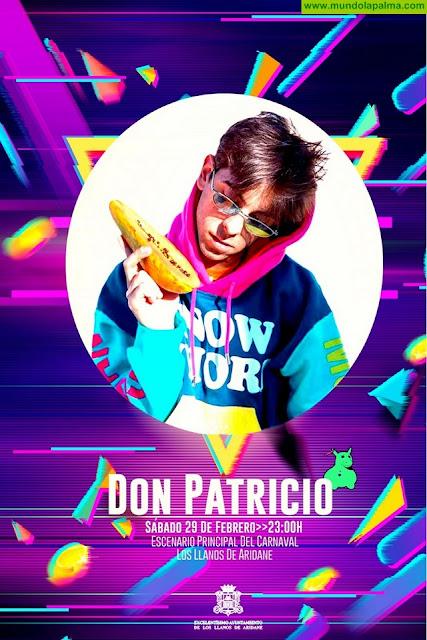 Don Patricio actuará en Los Llanos de Aridane el sábado 29 de febrero