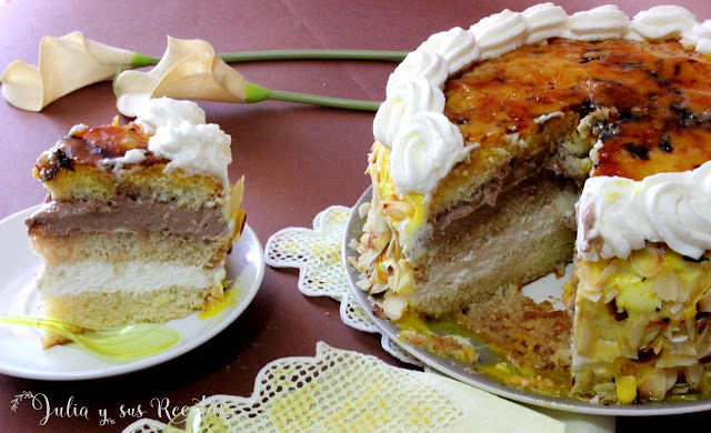 Tarta San Marcos. Julia y sus recetas