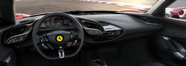 New Super Ferrari rewrites brand history. A thousand-dollar hypersport can handle 200 km / h in 6.7 seconds