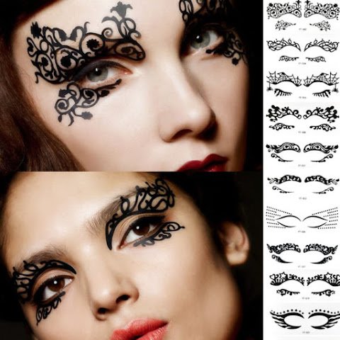 Fashion Alert! Temporary Eyeshadow Tattoos