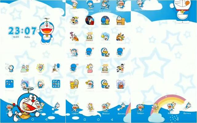 Tema Doraemon Xiaomi MTZ Tembus Aplikasi - Angkasa