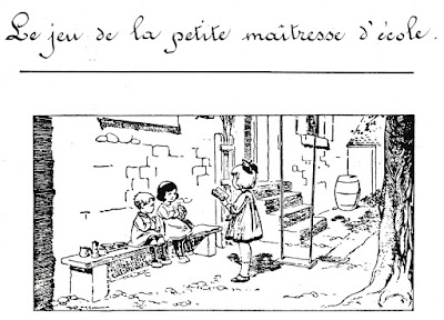 Gravure Cent Ans d'Ecole (collection musée)
