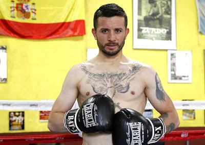 Rubén Nieto boxeo