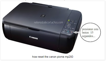 How to Reset Canon Mp280 Printer
