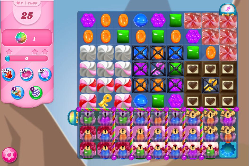 Candy Crush Saga level 760