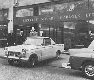 Berkeley Square Garages Ltd STR April 1960