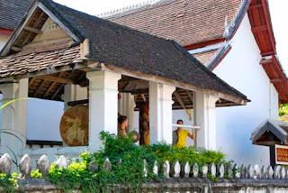 Buddhist Temple Bell Luang Prabang Laos