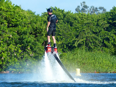 Flyboarding in Reunion