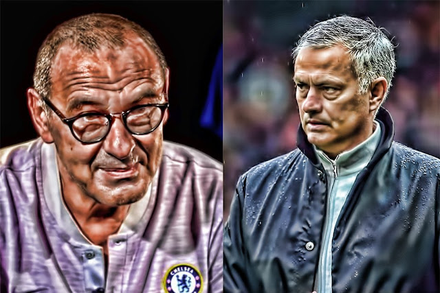 Maurizio Sarri vs Jose Mourinho - could this be the beginning of the end?