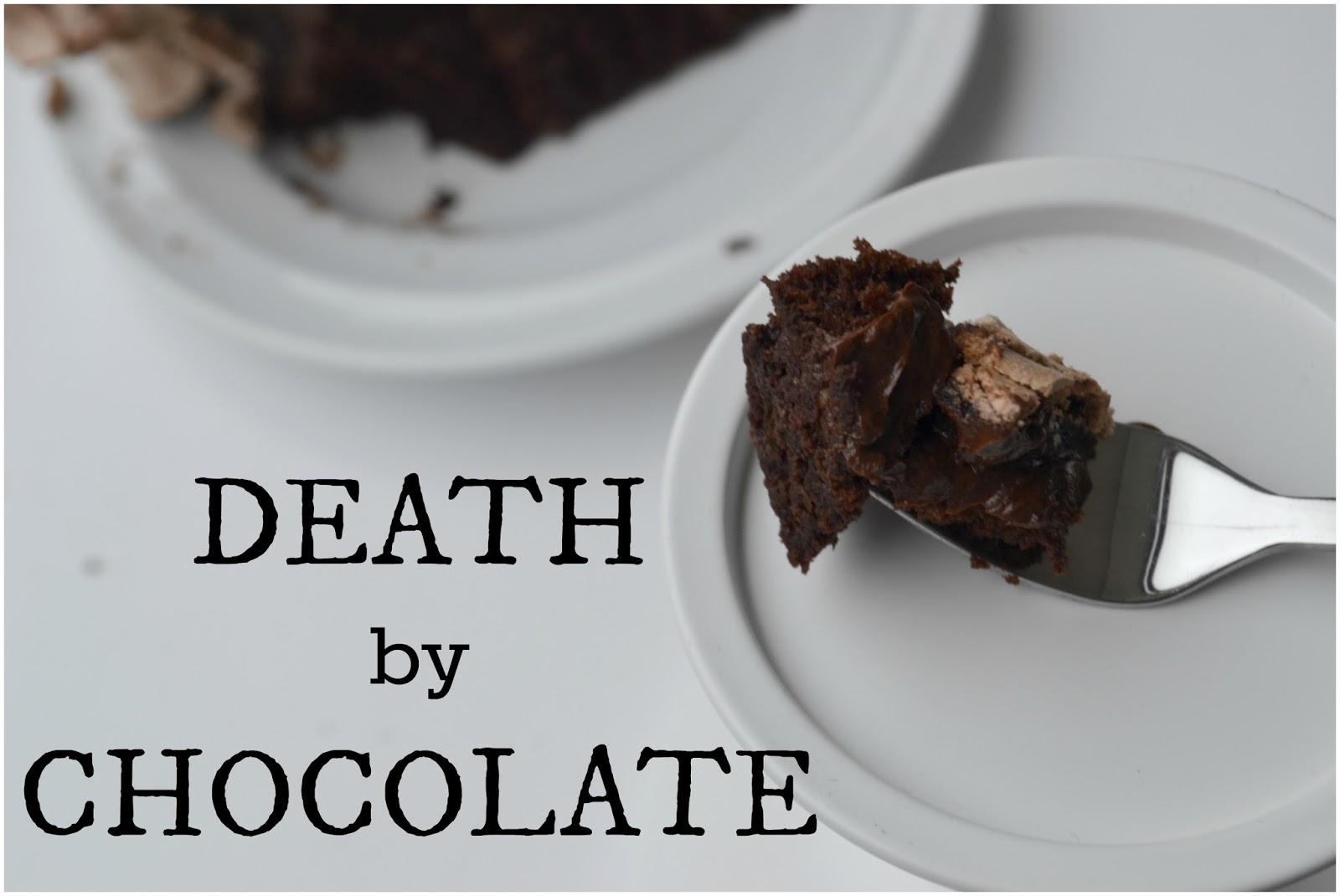 procrastibake death by chocolate. Black Bedroom Furniture Sets. Home Design Ideas