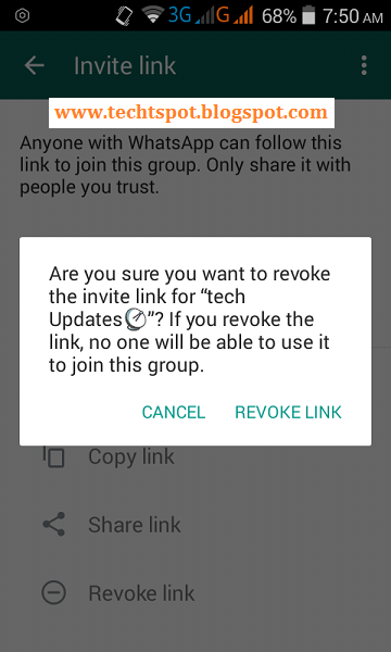 Deactivate whatsapp group join invitation link deactivate whatsapp group join invitation link 5 stopboris Images