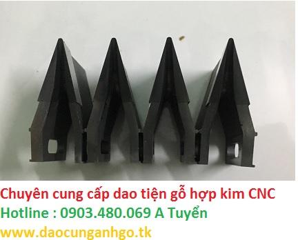 Dao tiện gỗ hợp kim CNC