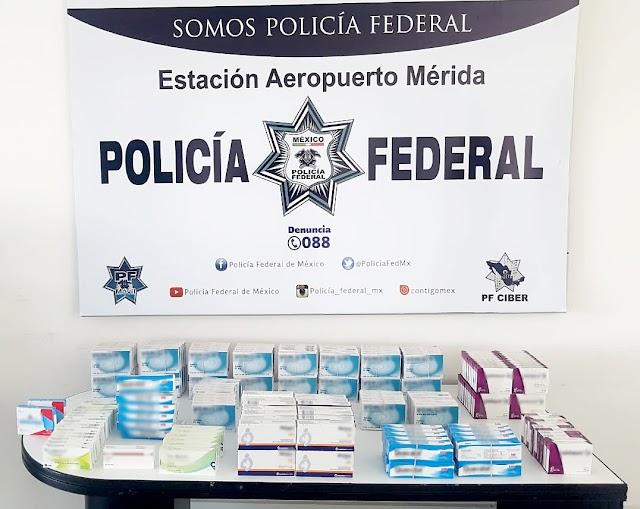 EN MICHOACÁN Y YUCATÁN, POLICÍA FEDERAL ASEGURA ALREDEDOR DE 21 MIL TABLETAS DE MEDICAMENTO CONTROLADO