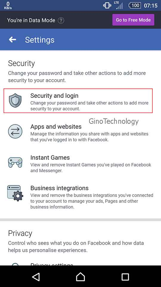 How To Change Facebook Password On Android | Gino Technology