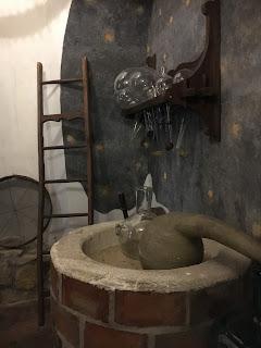 金の鷲薬局博物館の錬金術展示②