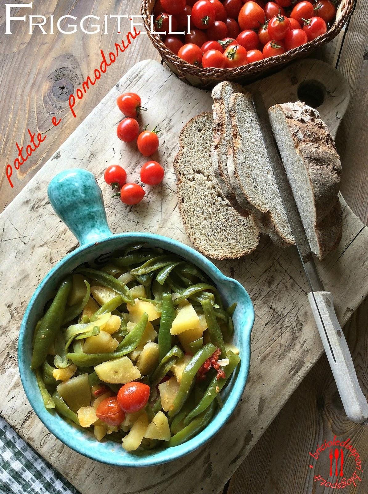 friarielli patate e pomodorini