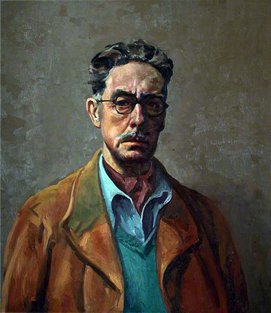 Robert Mackechnie, Self Portrait, Portraits of Painters, Fine arts, Portraits of painters blog, Paintings of Robert Mackechni, Painter Robert Mackechni