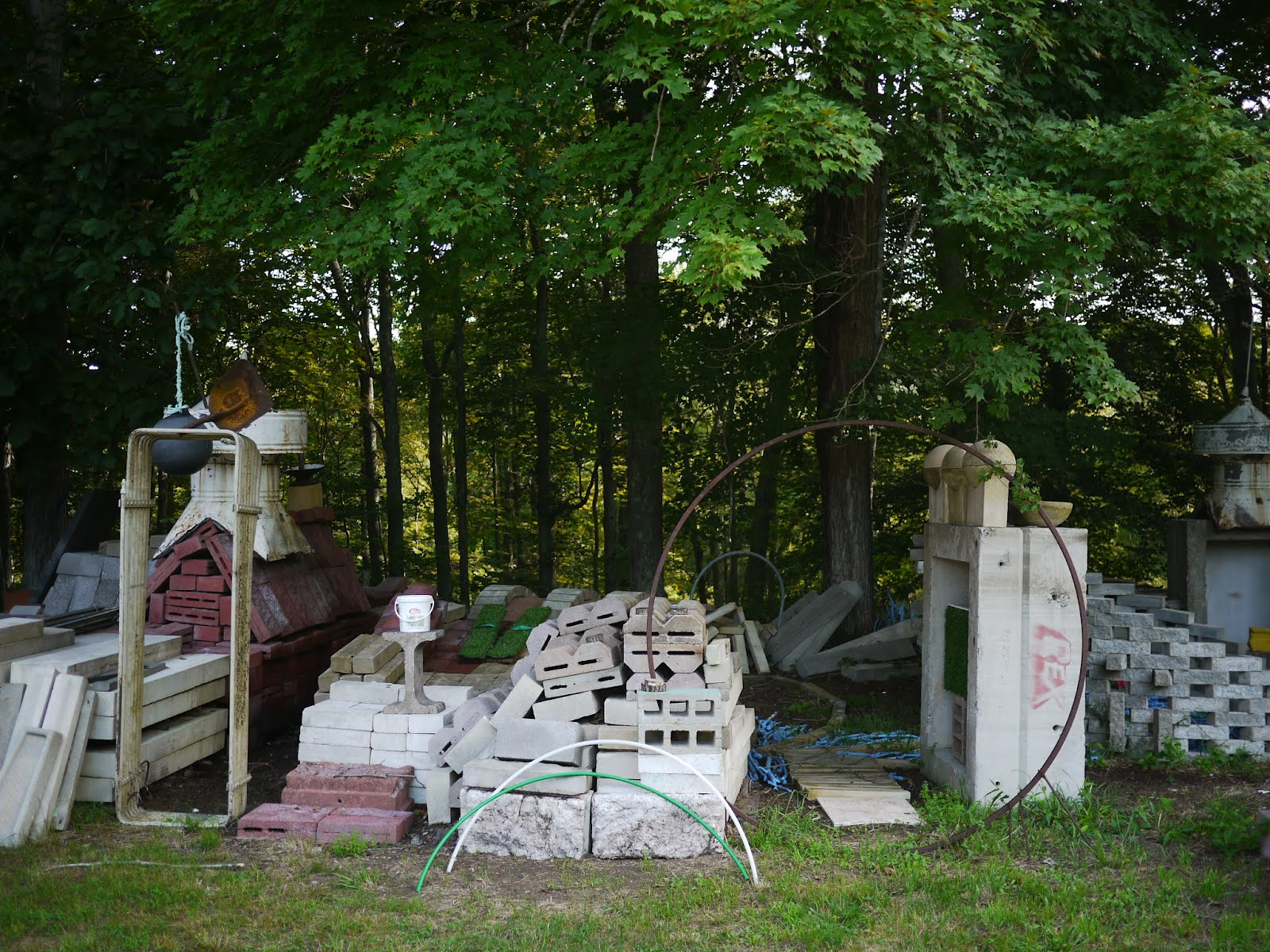 Objects at the I-Park graveyard