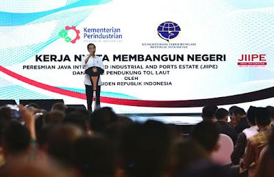 Presiden Jokowi Ingin Konsep JIIPE Gresik Diterapkan di Tempat Lain - Info Presiden Jokowi Dan Pemerintah