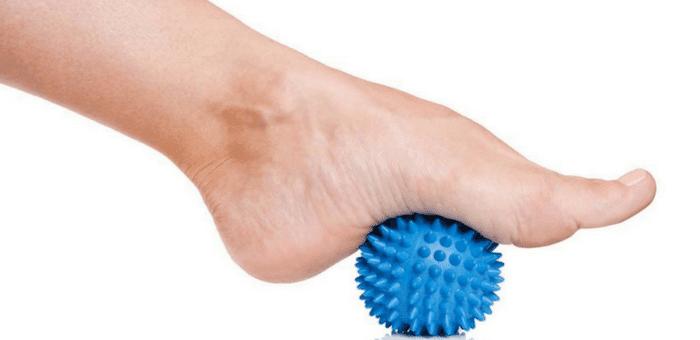 estiramiento del pie