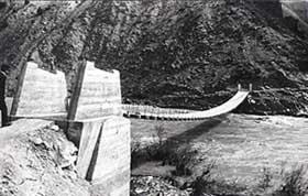 Tarihte İlk Asma Köprü