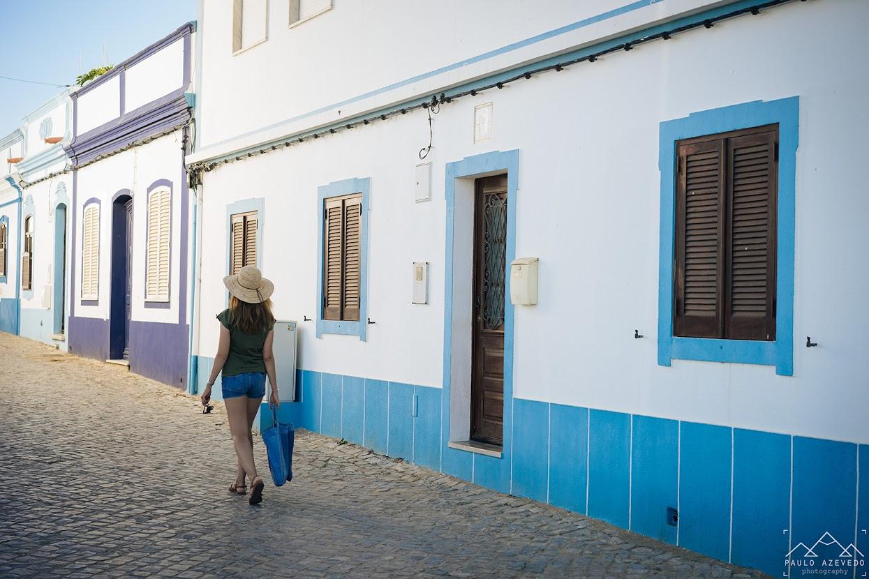 Rua em Cacela Velha